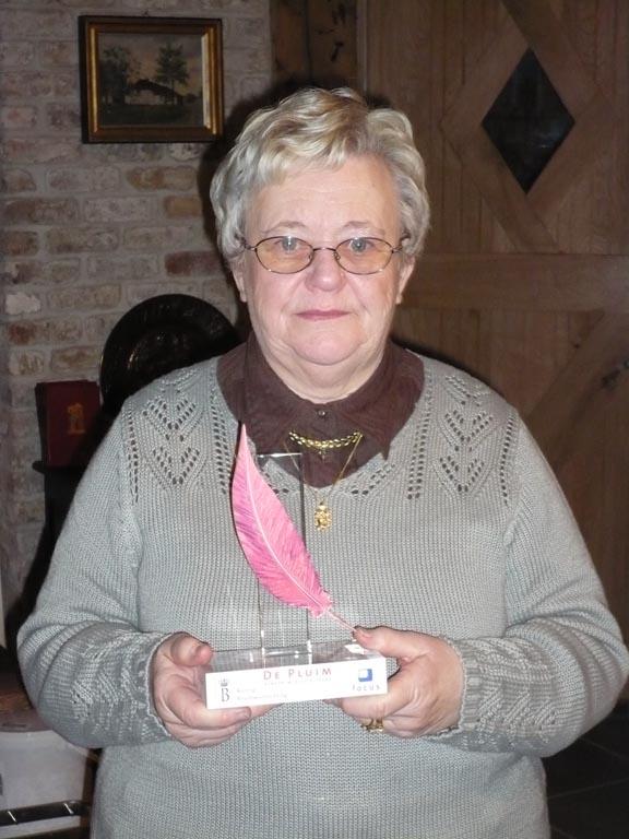 Marie-Jeanne winnaar 'De Pluim'